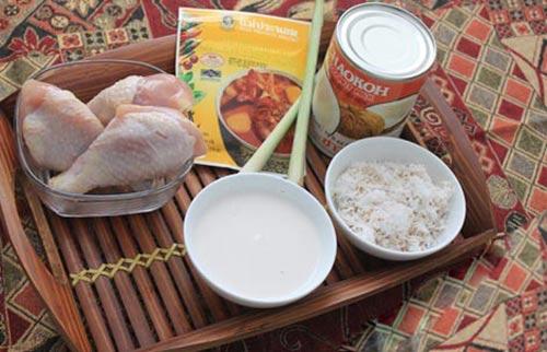 Ẩm thực: Cà ri gà kiểu Thái - 1