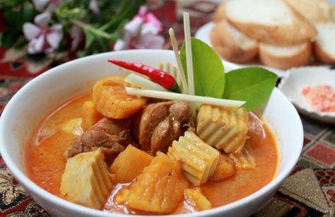 Ẩm thực: Cà ri gà kiểu Thái - 4