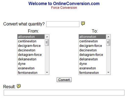 Phần mềm chuyển đổi đơn vị trực tuyến miễn phí - 4