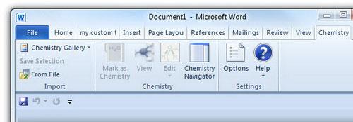 """Thủ thuật hóa học"""" cho Word - 2"""