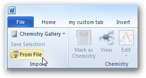"""Thủ thuật hóa học"""" cho Word - 4"""