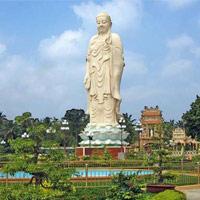 Tượng Phật A Di Đà lộ thiên cao nhất Việt Nam