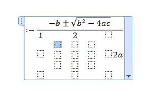 Mẹo gõ công thức toán học/hóa học phức tạp trong Word (Phần 1) - 3