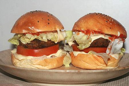 Ẩm thực: Cuối tuần làm Hamburger bò - 7