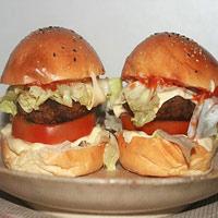 Ẩm thực: Cuối tuần làm Hamburger bò