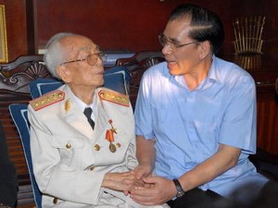 Chúc thọ Đại tướng Võ Nguyên Giáp - 1