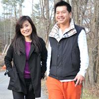 Hồng Đào - Quang Minh: Cặp đôi hạnh phúc