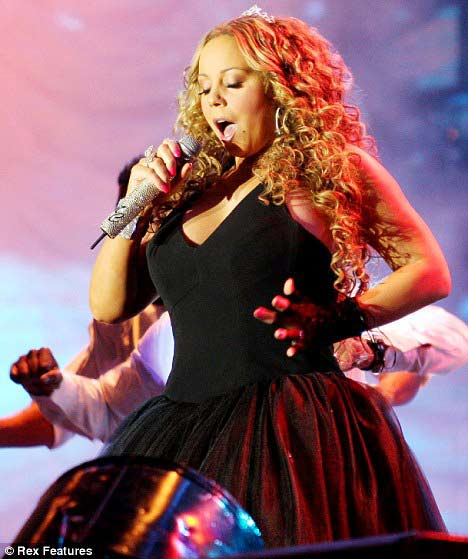 Mariah Carey mang bầu 4 tháng - 4