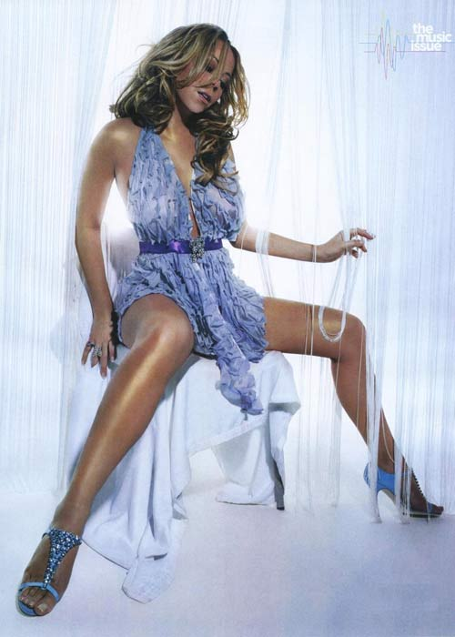 Mariah Carey mang bầu 4 tháng - 7