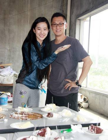 Lưu Diệc Phi đón sinh nhật bên 'người yêu' - 4