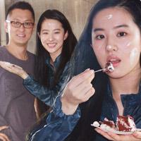 Lưu Diệc Phi đón sinh nhật bên 'người yêu'