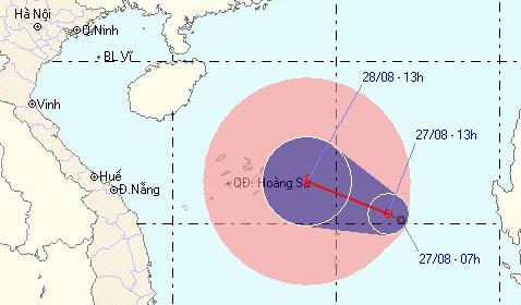 Việt Nam sắp có bão số 4 - 1