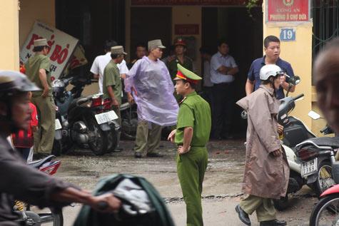 Nguyên nhân vụ nổ tại trụ sở công an phường - 1