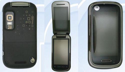 Motorola công bố bộ ba điện thoại mới - 3