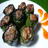 Món đặc biệt: Lươn cuốn lá lốt