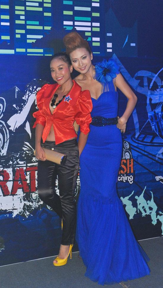 Ngô Thanh Vân xanh ngắt bên Đoan Trang sexy - 6