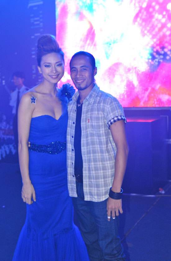 Ngô Thanh Vân xanh ngắt bên Đoan Trang sexy - 11