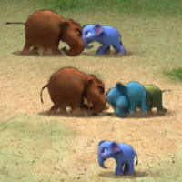 Game Hot: Đại chiến voi rừng