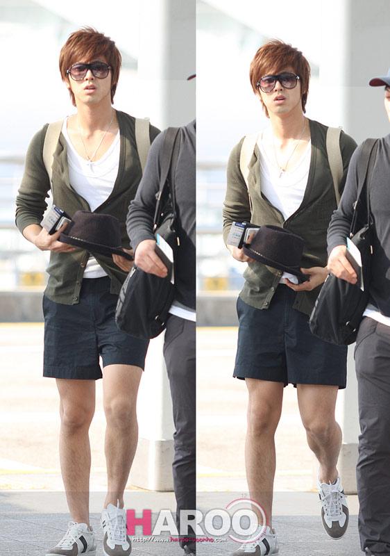 Thời trang độc của sao Hàn tại sân bay - 6