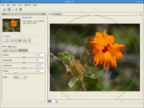 Phần mềm tạo hiệu ứng & trang trí ảnh số - 1