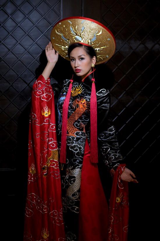 Mai Phương Thúy mặc bộ áo dài lập Guinness - 5