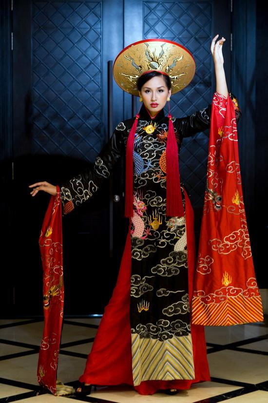 Mai Phương Thúy mặc bộ áo dài lập Guinness - 6
