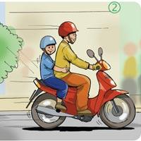 Kỹ thuật chạy xe máy an toàn
