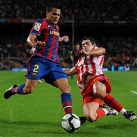 Atletico – Barca: Bom tấn đầu tiên