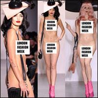 Show thời trang khỏa thân kỳ dị gây bức xúc