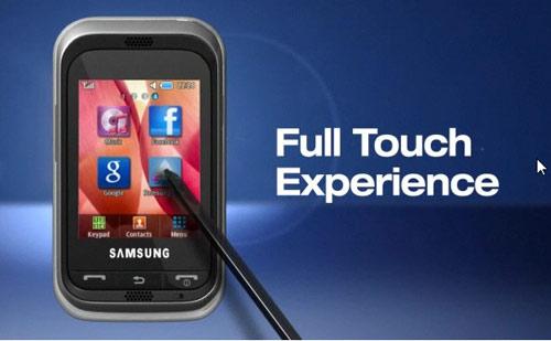 Samsung C3303K điện thoại cảm ứng lý tưởng cho giới trẻ - 2