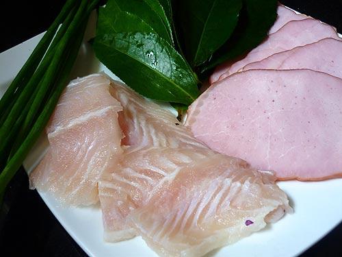 Cá cuộn hấp trà xanh - 1