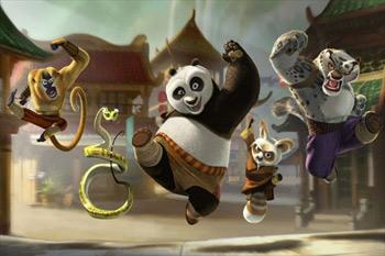 Video phim: Kung fu gấu trúc - 5