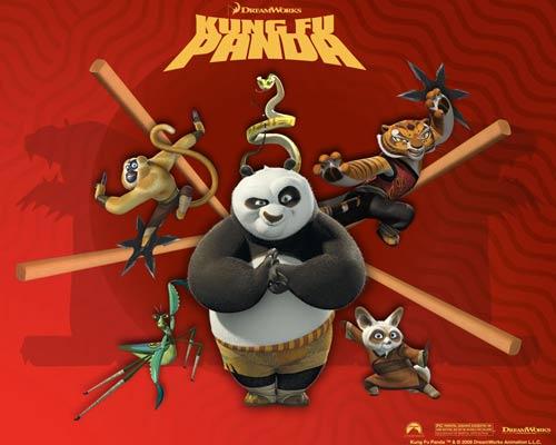 Video phim: Kung fu gấu trúc - 1