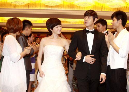 """Lý Tiểu Nhiễm """"lên xe hoa"""" với Park Hae Jin - 10"""