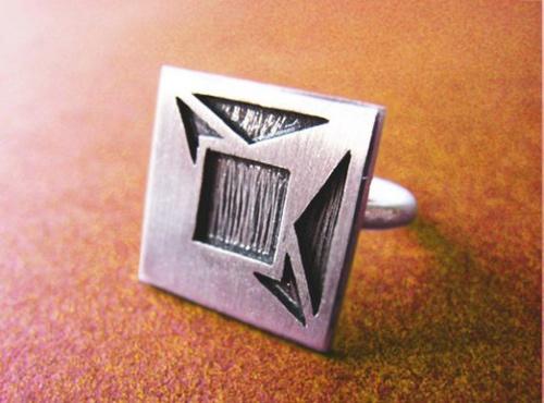 Độc đáo với nhẫn bạc hình học - 21