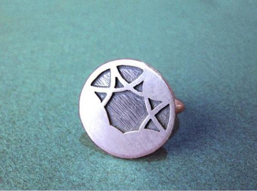 Độc đáo với nhẫn bạc hình học - 25