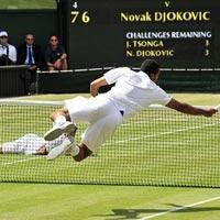 10 pha bóng để đời tại Wimbledon 2011