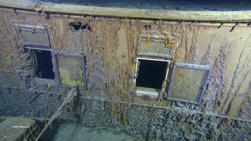 Hình ảnh mới nhất của con tàu Titanic - 1