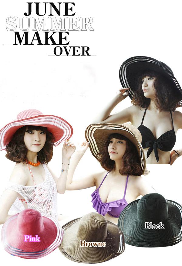 Sắm mũ rộng vành cho thời trang biển - 9