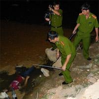 Quảng Ngãi: Xác chết nổi trong hố nước