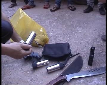 Băng xã hội đen mang vũ khí vào Bắc Giang - 2