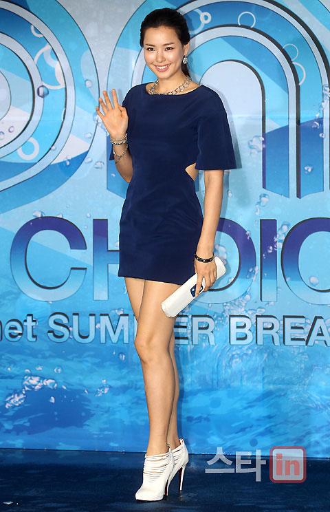 Hoa hậu Hàn Quốc quyến rũ trong làn mưa - 3