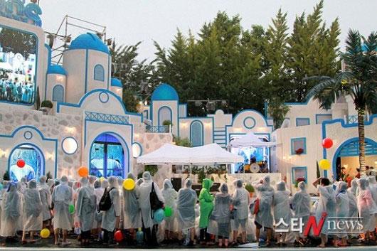 Hoa hậu Hàn Quốc quyến rũ trong làn mưa - 10
