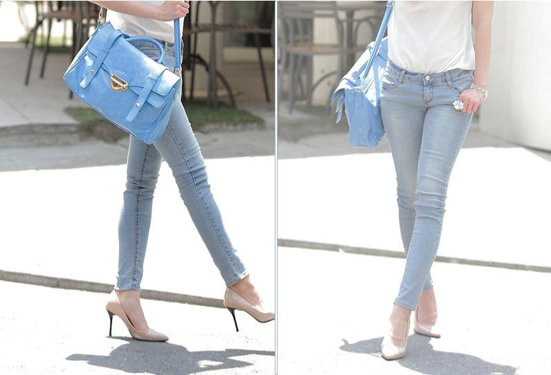 Thấp và nhỏ mặc jeans như thế nào? - 12