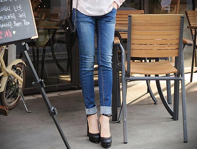 Thấp và nhỏ mặc jeans như thế nào? - 10