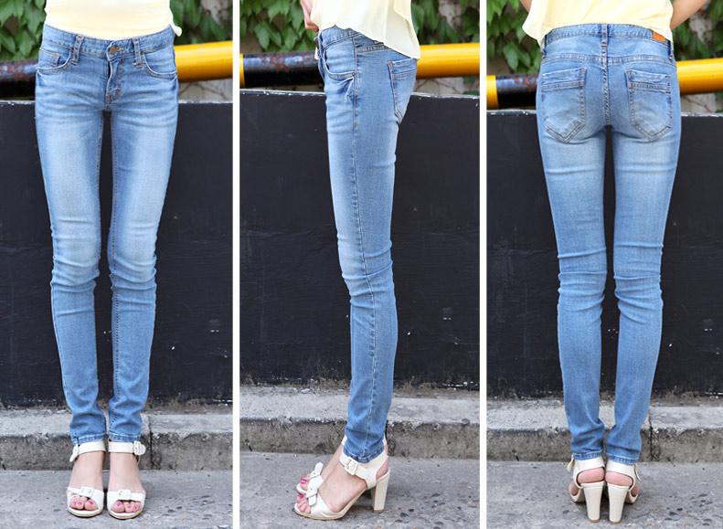 Thấp và nhỏ mặc jeans như thế nào? - 13