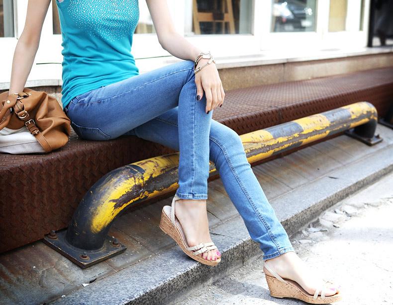 Thấp và nhỏ mặc jeans như thế nào? - 14