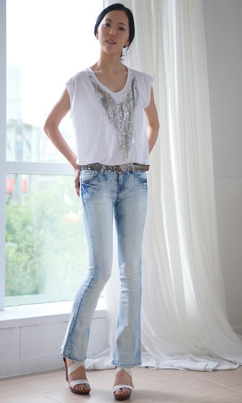 Thấp và nhỏ mặc jeans như thế nào? - 4