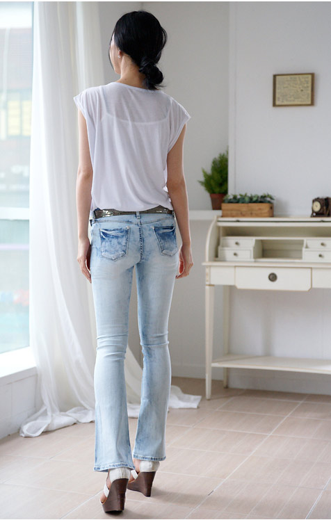 Thấp và nhỏ mặc jeans như thế nào? - 5