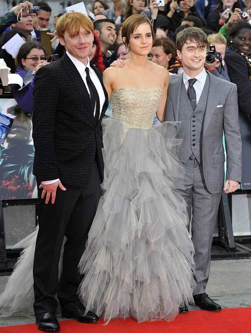 Emma Watson 'đánh cắp' hào quang của Daniel và Rupert - 3